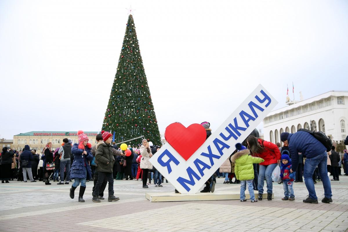 Череда новогодних мероприятий и торжеств пройдет в Махачкале