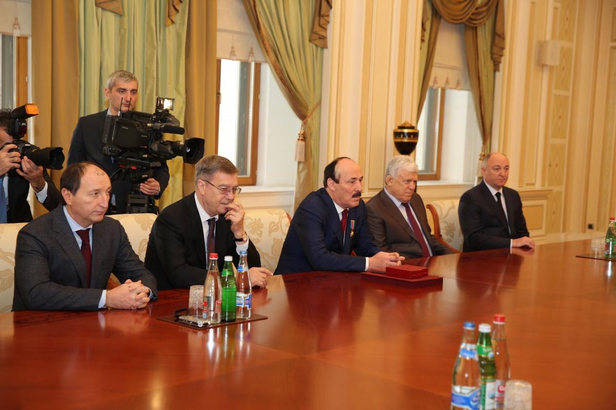 Рамазан Абдулатипов прибыл с официальным визитом в Баку