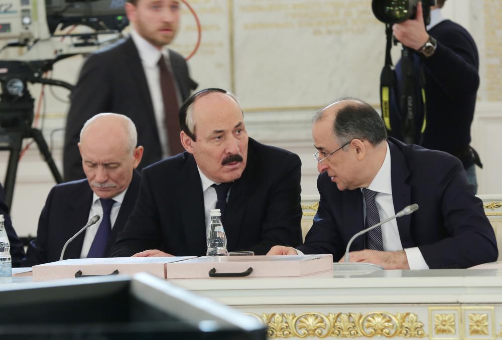 Рамазан Абдулатипов принял участие в заседании Государственного Совета РФ