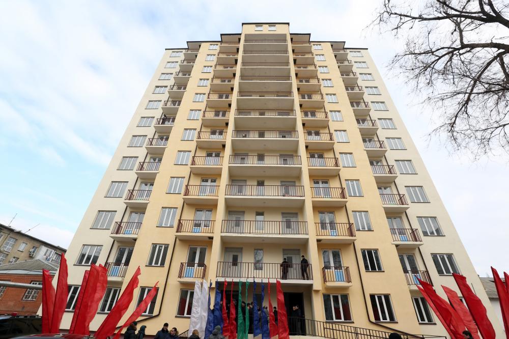 Новые жители улицы Олега Кошевого