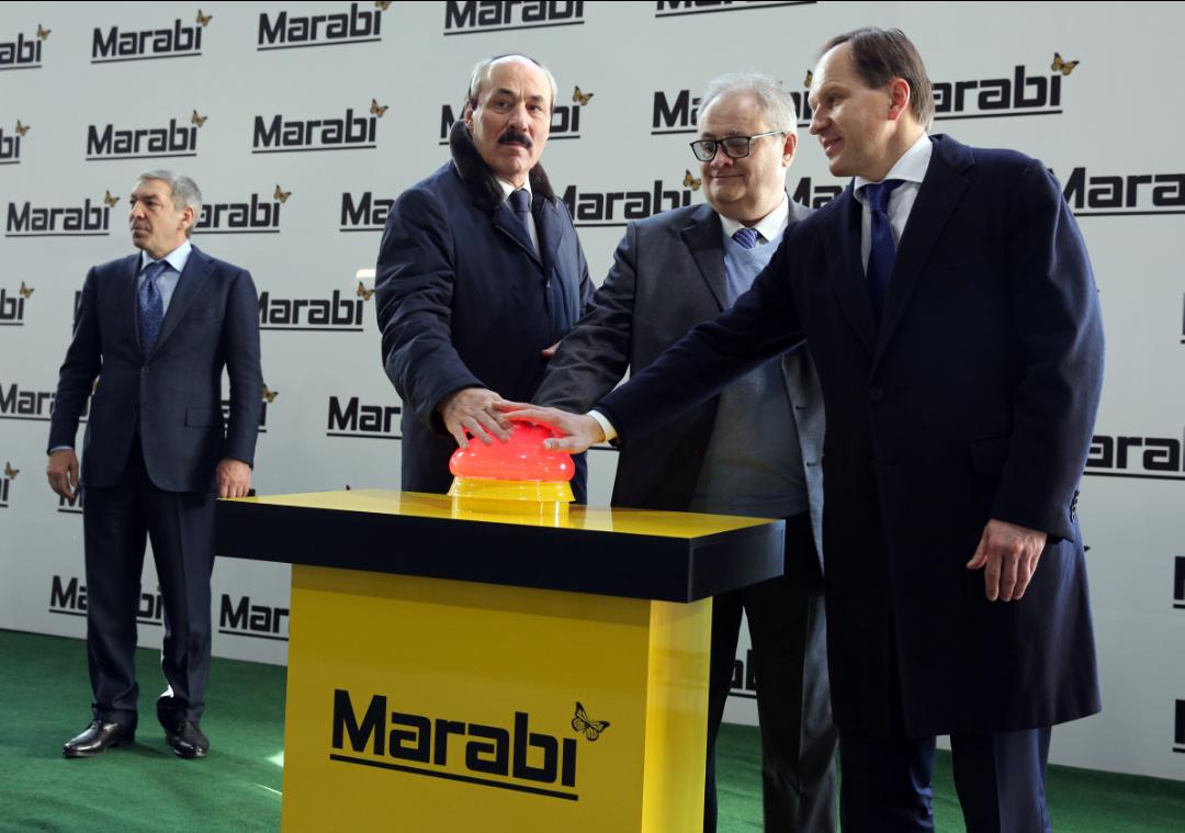 В Кумторкалинском районе Дагестана состоялось торжественное открытие завода «Мараби»