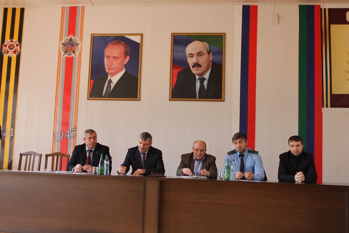 В Гергебильском районе утвердили бюджет на 2017 год