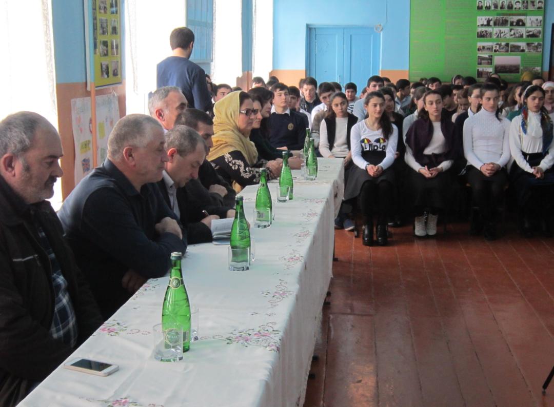 День памяти воинов-интернационалистов прошел в Чинарской школе