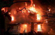 Очередная школа сгорела от пожара в Дагестанском селе