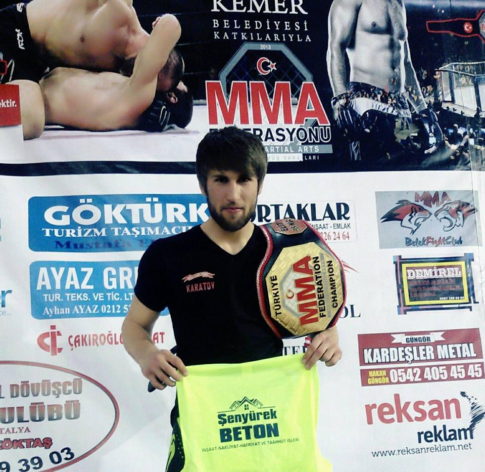 Дагестанец Магомедсалам Каратов стал чемпионом мира по ММА