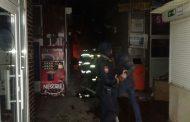 Пожар на рынке Махачкалы - фоторепотраж