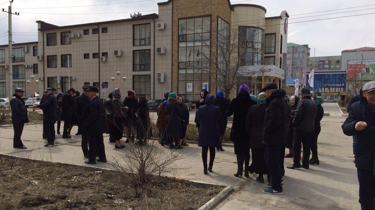 В Дагестане журналисты вышли на защиту территории РГЖИ