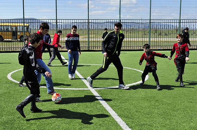 Академия «Анжи» будет открывать филиалы по всему Дагестану