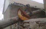 Около 12 тыс. человек в 9 районах Дагестана остались без электричества из-за ветра