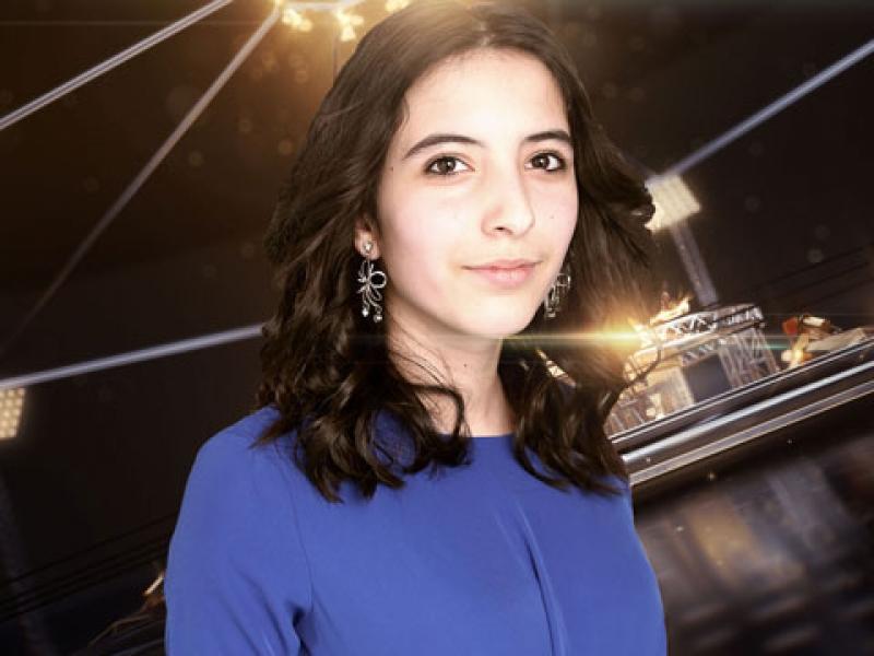 Карина Исмаилова вышла в следующий этап конкурса юных певцов