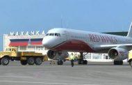 Аэропорт Махачкалы работает в штатном режиме