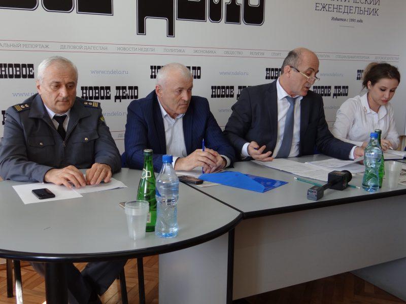 Дагестанские дальнобойщики встретились с представителями властей