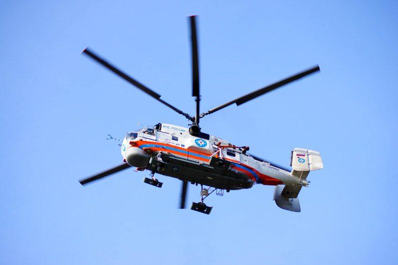Вертолет МЧС вылетел в Цумадинский района для госпитализации пострадавших при взрыве гранаты