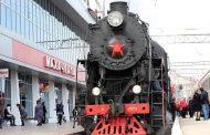 Поезд «Победа» отправился из Махачкалы по городам СКФО
