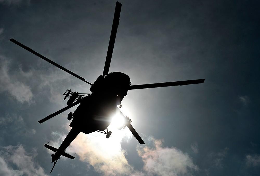 Вертолет ФСБ Дагестана эвакуировал тяжелобольного из Ахтынского района