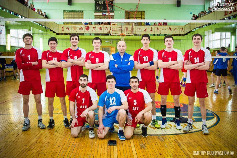 Волейболисты ДГУ одержали победу на Всероссийских студенческих соревнованиях