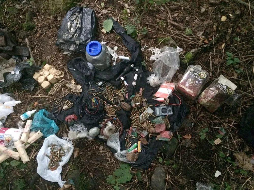 Тайник с оружием и боеприпасами найден в Унцукульском районе