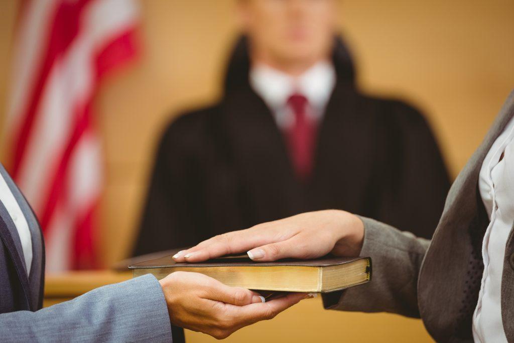 свидетельские показания в уголовном процессе