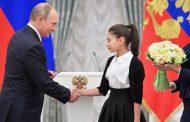 Путин принял семиклассницу из Дагестана