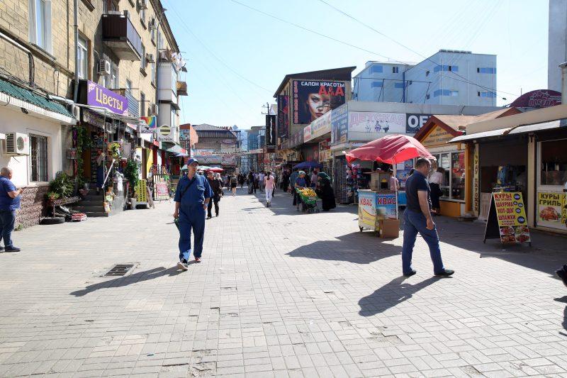 Мэрия Махачкалы вышла на рейд против уличных торговцев