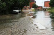 КОР затопил махачкалинскую улицу Зои Космодемьянской