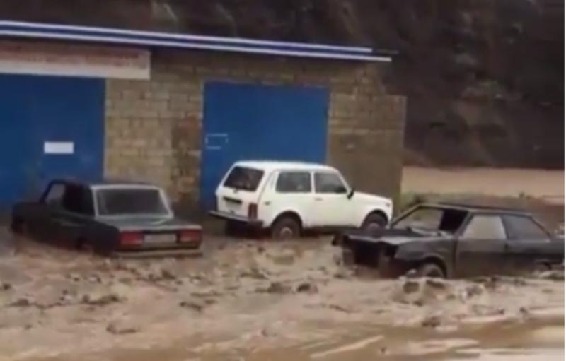 В Дагестане селевой поток унес 6 коров, козу и дом
