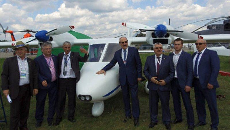 Рамазан Абдулатипов: дагестанский самолет МАИ-411 имеет большие перспективы