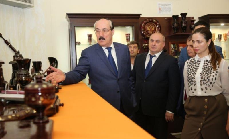 Абдулатипов ознакомился с «Жемчужиной Дагестана»