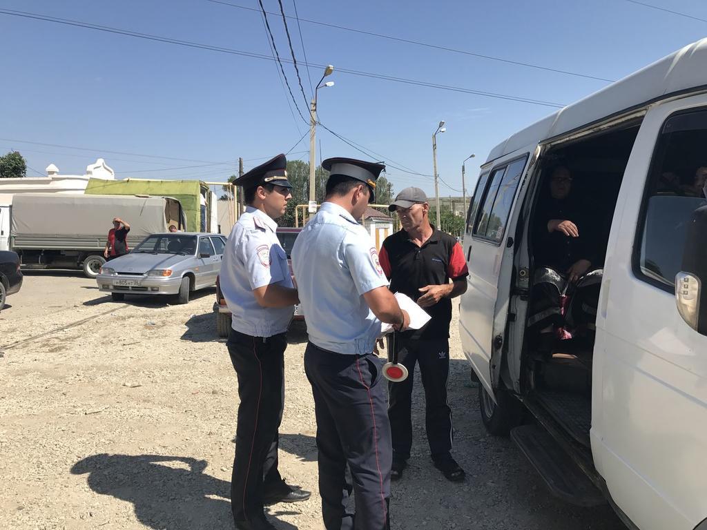 В Махачкале проходит профилактическое мероприятие «Автобус – незаконный перевозчик»