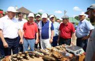 В Дагестане приготовили 600 литров ухи