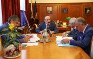 Абдулатипов встретился с председателем Общественной палаты Дагестана