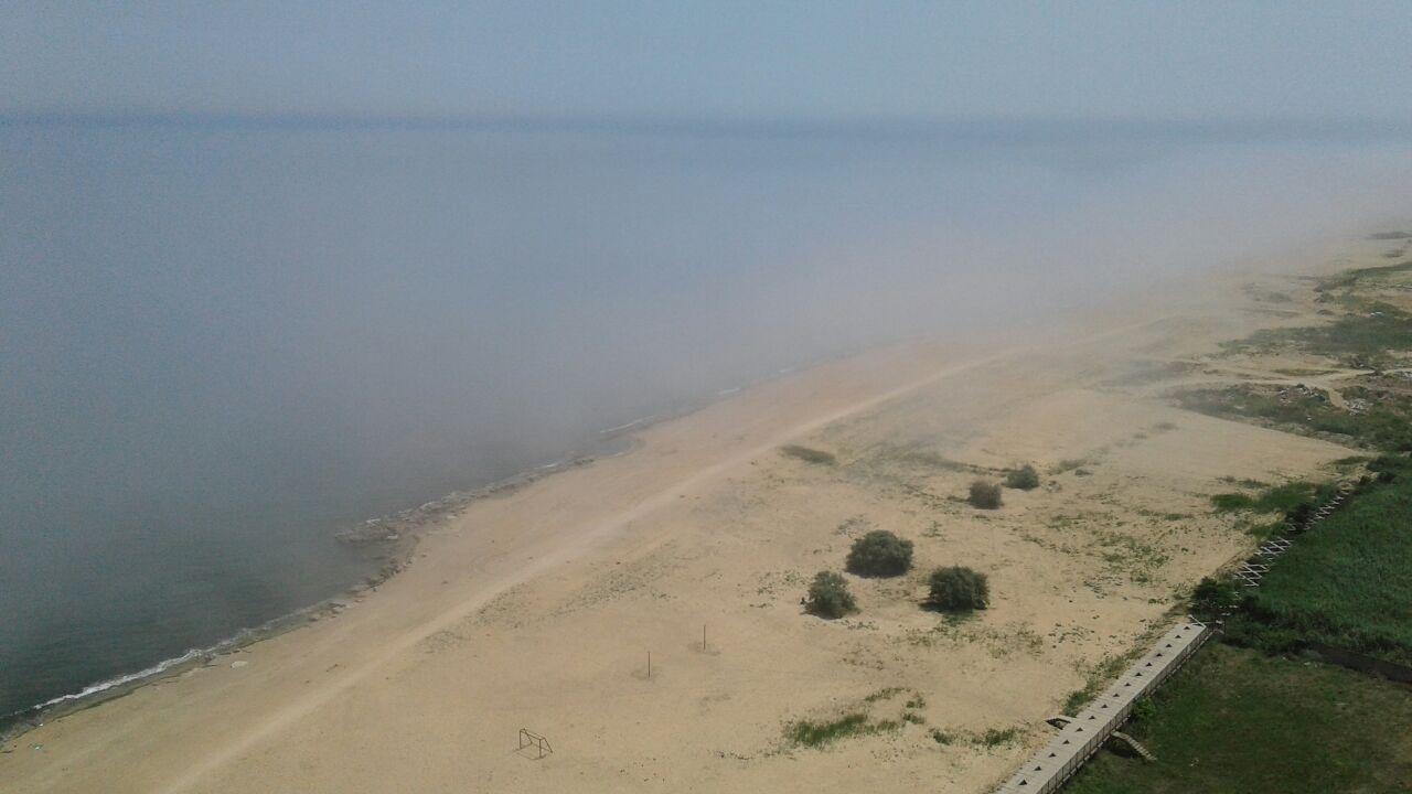 Туман с моря напугал некоторых жителей Махачкалы