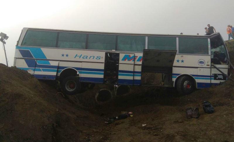 Три человека пострадали в ДТП с пассажирским автобусом в Тарумовском районе
