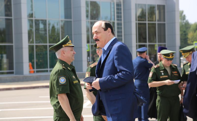 Абдулатипов принял участие в Армейских международных играх