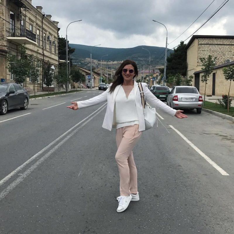 Певица Жасмин вернулась в родной город Дербент