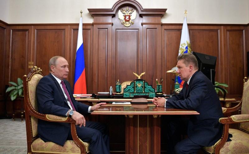 Глава «Газпрома» пожаловался Путину на Дагестан