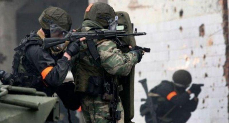 В перестрелке с боевиками на окраине Хасавюрта погиб силовик