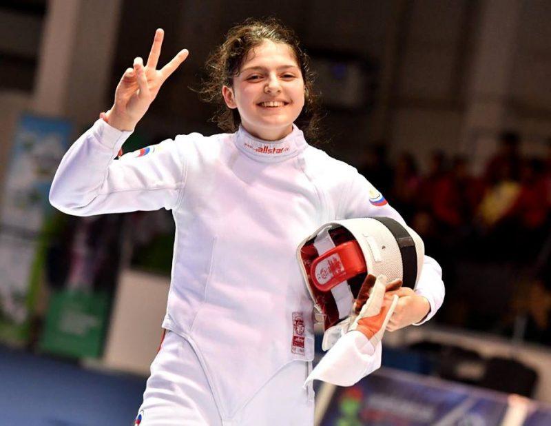 Шпажистка из Хунзаха стала чемпионкой Спартакиады-2017