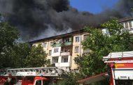 Пожар в доме на Ирчи Казака мог быть вызван работой интернет-провайдера