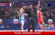 Рашидов - в финале (видео полуфинальной схватки)