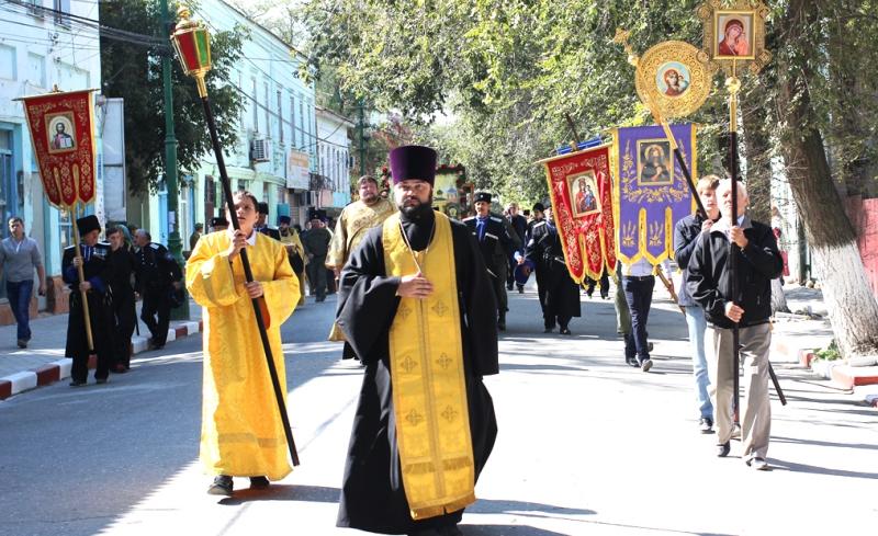 В Кизляре прошел крестный ход православных Дагестана и Чечни