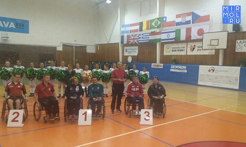 Дагестанец стал призером международного турнира по настольному теннису