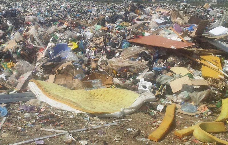 В Манаскенте пройдут работы по устранению несанкционированной мусорной свалки