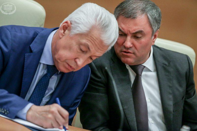 Володин призвал депутатов помочь Васильеву на посту руководителя Дагестана