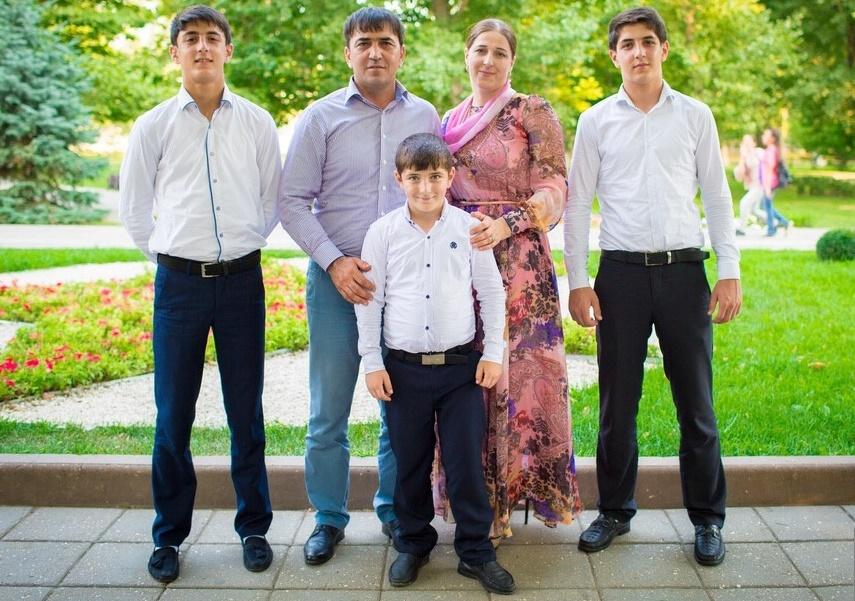 Семья из Дагестана признана одной из лучших в России