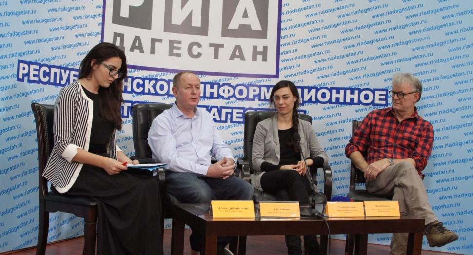 В Дагестане снимают документальный фильм «Полет над Россией»