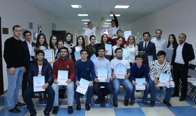 В Махачкале прошел конкурс волонтеров «Команда будущего»
