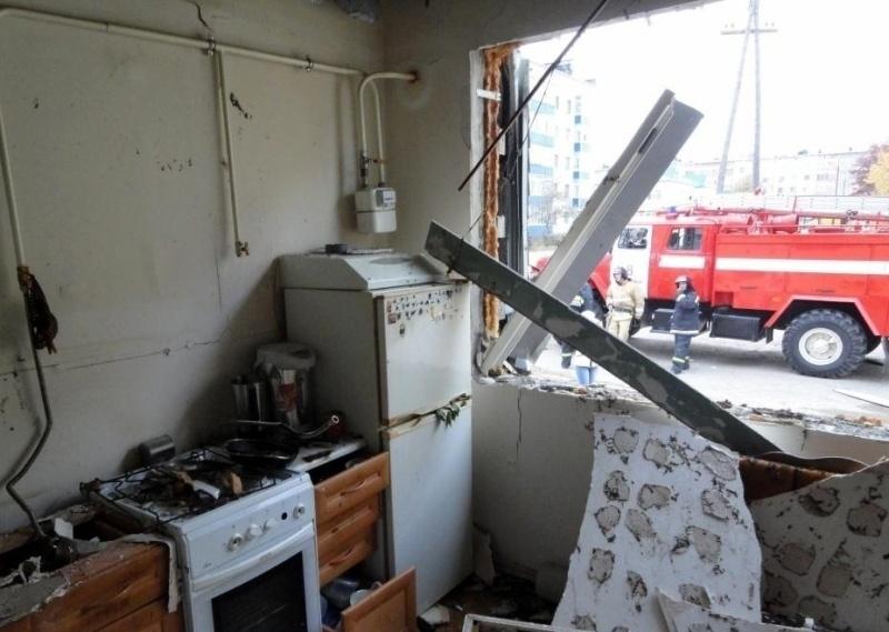 Взрыв газовоздушной смеси разрушил дом в Шаласи