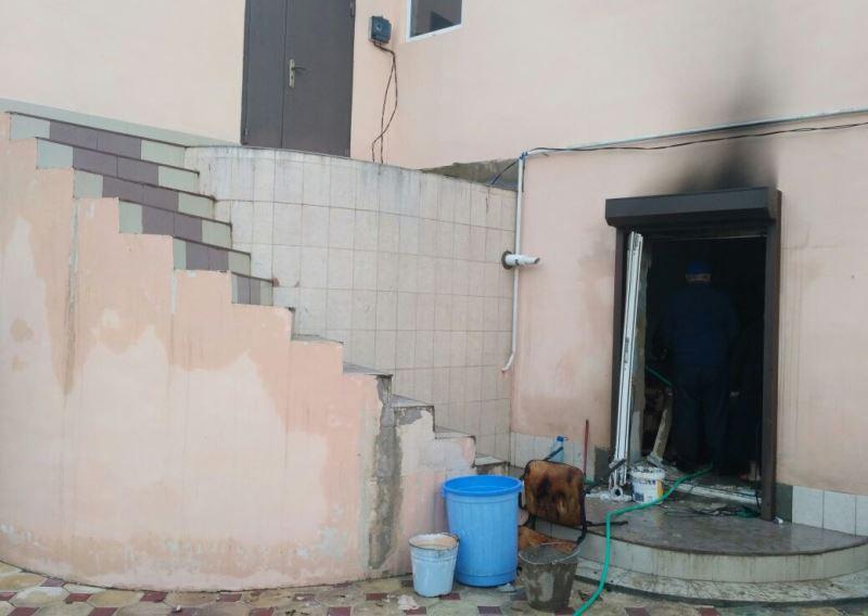В Ленинкенте в частном доме взорвался бытовой газ