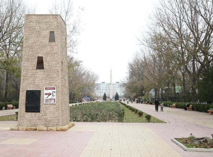 В Махачкале возводят миниатюры сторожевых башен